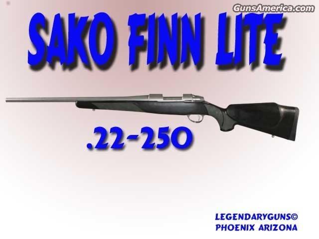 Sako FinnLight 22-250  Guns > Rifles > Sako Rifles