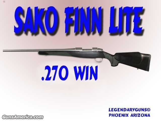 Sako Finnlight .270  Guns > Rifles > Sako Rifles