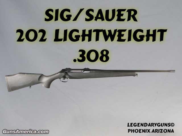SigSauer 202 LW .308  Guns > Rifles > Sigarms Rifles