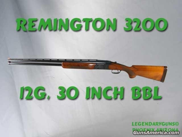 Remington 3200  Guns > Shotguns > Remington Shotguns
