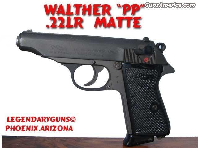 Walther PP .22LR  Guns > Pistols > Walther Pistols