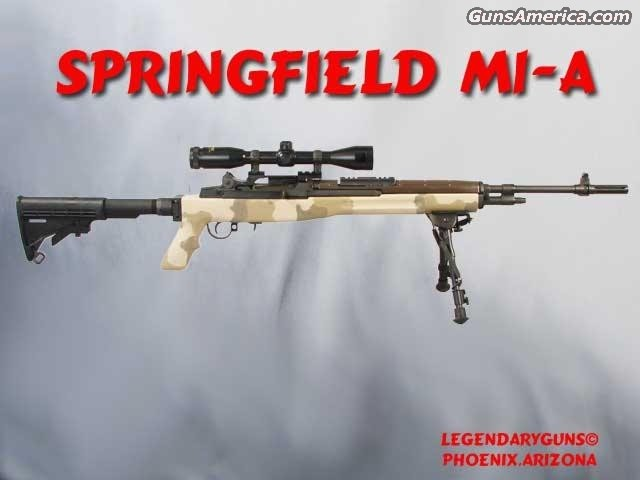 M1-A1 .308 Two Stocks  Guns > Rifles > Springfield Armory Rifles