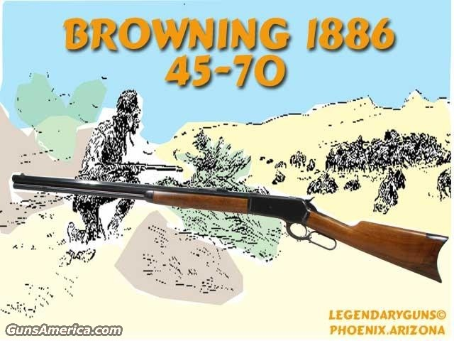 Browning 1886 .45-70  Guns > Rifles > Browning Rifles