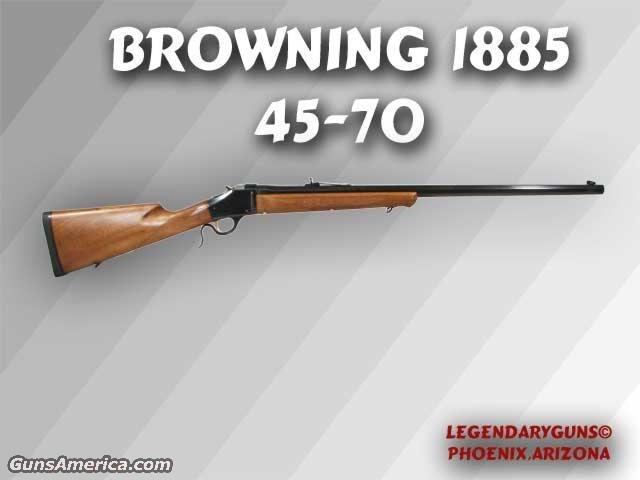 Browning 1885 454-70  Guns > Rifles > Browning Rifles