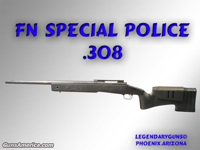 FN Special Police .308  Guns > Rifles > FNH - Fabrique Nationale (FN) Rifles