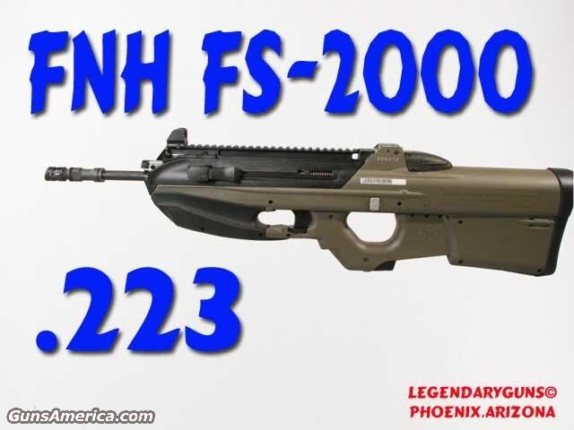 FN FS-2000 .223  Guns > Rifles > FNH - Fabrique Nationale (FN) Rifles