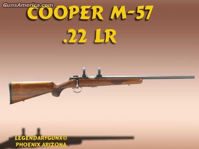 Cooper M-57 .22lr  Guns > Rifles > Custom Rifles