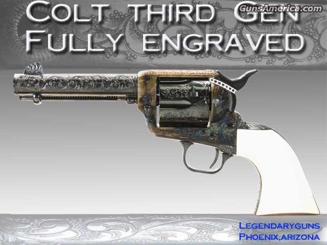 Colt Engraved Phill Quigley  Guns > Rifles > Colt Commemorative Rifles