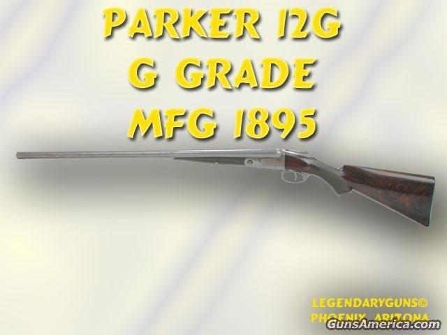 Parker G Grade 12 G  Guns > Shotguns > Parker Shotguns