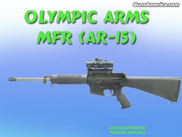 Olympic MFR(AR-15)  Guns > Rifles > TU Misc Rifles