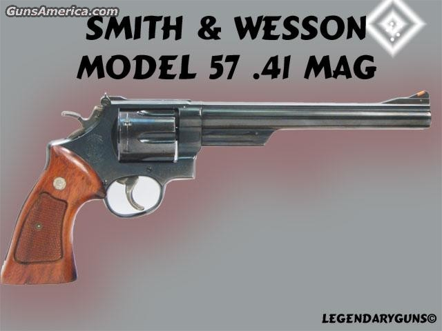 S&W 57 .41mag  Guns > Pistols > Smith & Wesson Revolvers