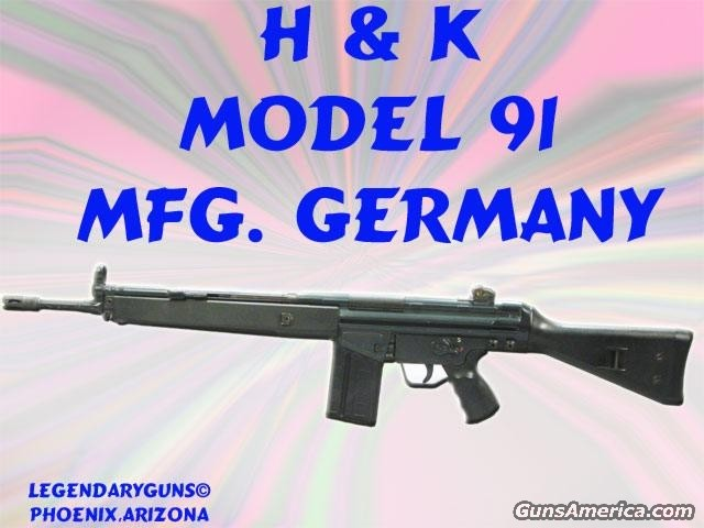 H&K Model 91  Guns > Rifles > Heckler & Koch Rifles