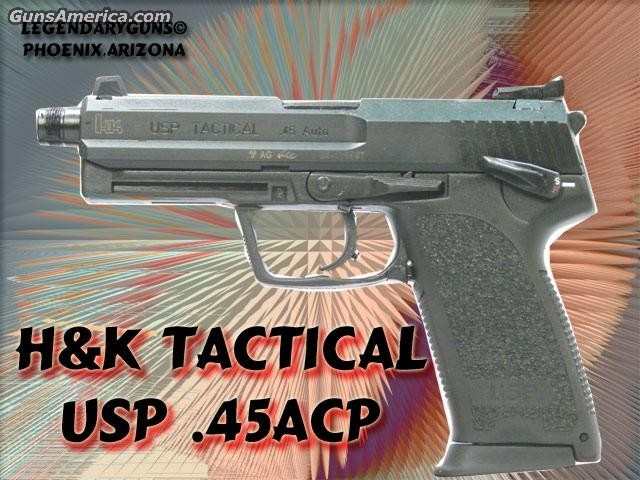 USP Tactical .45  Guns > Pistols > Heckler & Koch Pistols