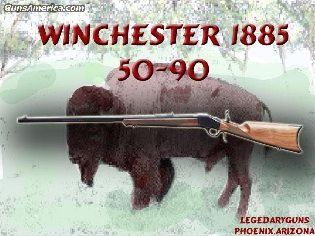 1885 50/90 BPCR  Guns > Rifles > Winchester Rifles - Modern Bolt/Auto/Single