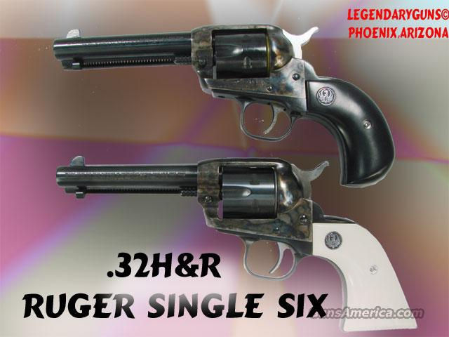 Ruger Single Six .32H&R  Guns > Pistols > Ruger Single Action Revolvers