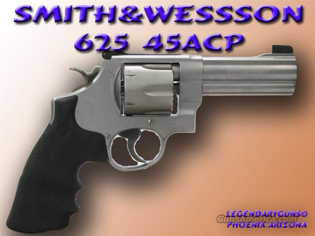 Smith & Wesson 625 .45acp  Guns > Pistols > Smith & Wesson Revolvers