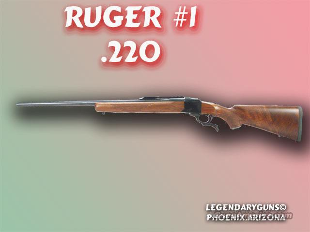 Ruger #1 .220 Swift  Guns > Rifles > Ruger Rifles