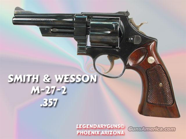 Smith & Wesson M-27 .357  Guns > Pistols > Smith & Wesson Revolvers
