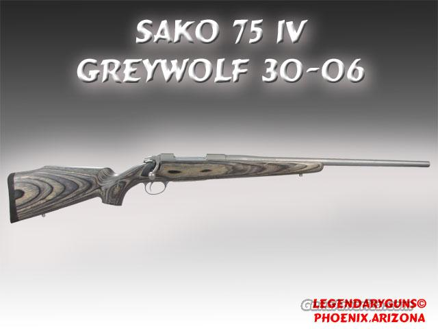 Sako Grey Wolf IV 30--06  Guns > Rifles > Sako Rifles