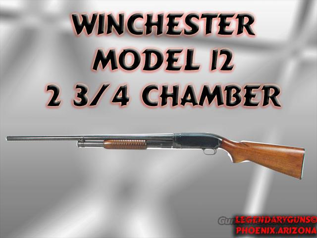 Winchester model 12  Guns > Shotguns > Winchester Shotguns - Modern > Pump Action