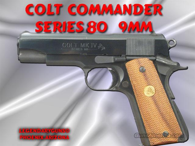 Colt Series 80  9mm  Guns > Pistols > Colt Automatic Pistols (1911 & Var)