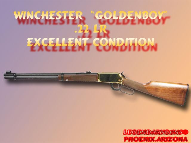 Winchester 94-22 GoldenBoy  Guns > Rifles > Winchester Rifles - Modern Lever > Other Lever > Post-64