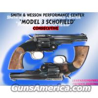 S&W Model 3 Schofield .45 S&W  Guns > Pistols > Smith & Wesson Pistols - Replica