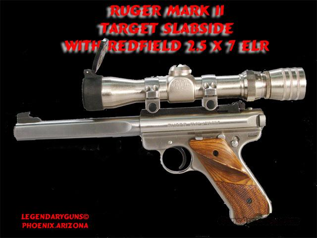 Ruger Mark II .22lr W /Scope  Guns > Pistols > Ruger Semi-Auto Pistols > Mark II Family