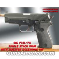 Sig P225/P6 9MM Single Stack  Guns > Pistols > Sig - Sauer/Sigarms Pistols