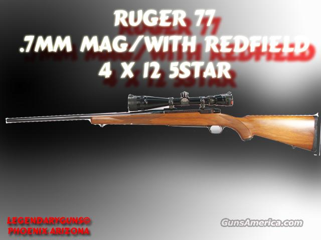 Ruger M-77 .7mmMag  Guns > Rifles > Ruger Rifles > Model 77