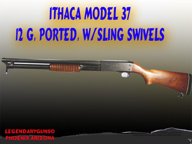 Ithaca .12 G model 37  Guns > Shotguns > Ithaca Shotguns > Pump