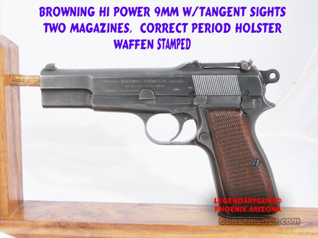 German/Browning H P Tangent 9mm  Guns > Pistols > Browning Pistols > High Power