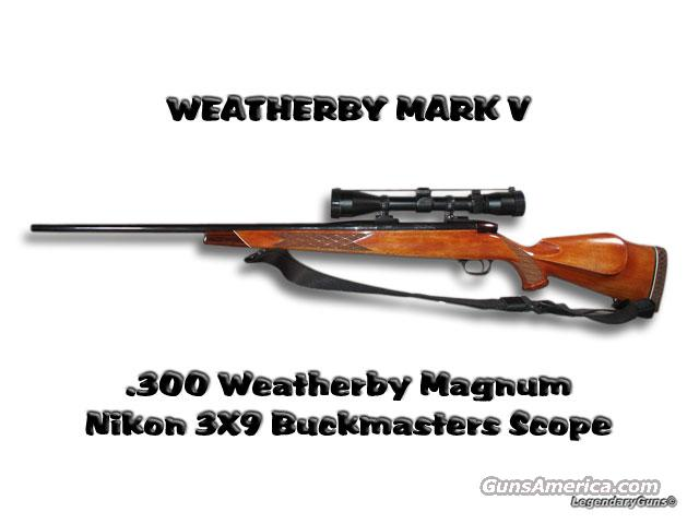 Mark V 300 Weatherby Mag  Guns > Rifles > Weatherby Rifles > Sporting