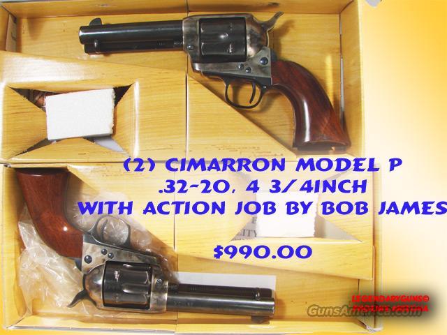 Cimmaron Used (2) 32-20 with Action job  Guns > Pistols > Cimmaron Pistols