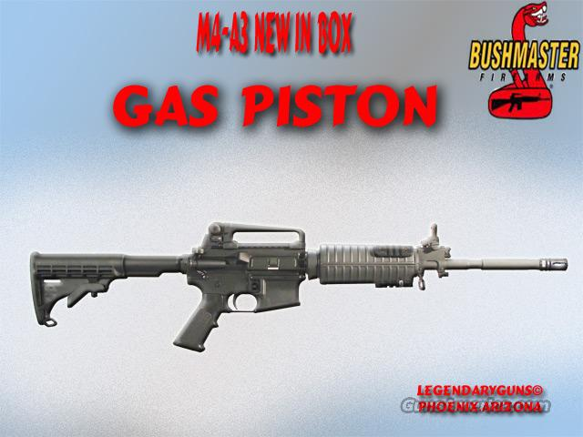 Bushmaster GasPiston M4-A3 .223  Guns > Rifles > Bushmaster Rifles > Complete Rifles