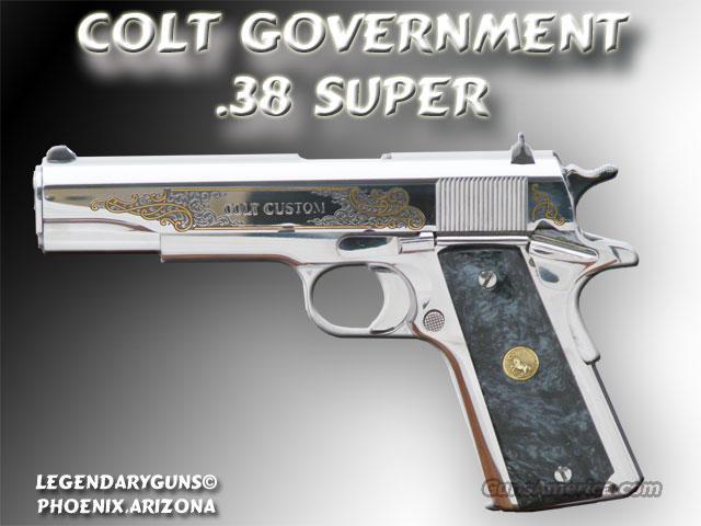 Colt Government Model .38Super S/S  Guns > Pistols > Colt Automatic Pistols (1911 & Var)