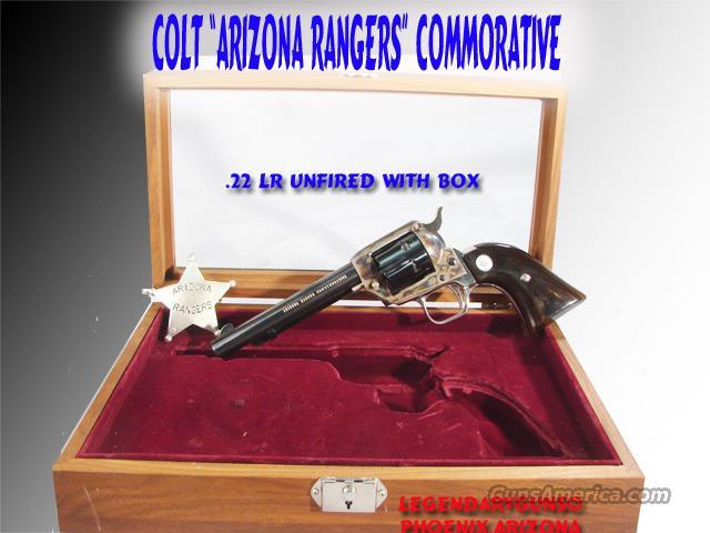 Colt Arizona Rangers Commorative  Guns > Pistols > Colt Commemorative Pistols