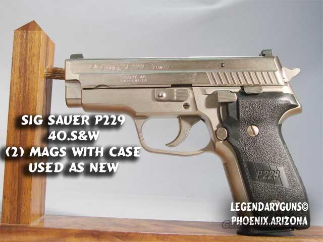 Sig Sauer P-229 40 S&W  Guns > Pistols > Sig - Sauer/Sigarms Pistols