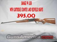 Savage 99 .308 Lever action  Guns > Rifles > Savage Rifles > Model 95/99 Family