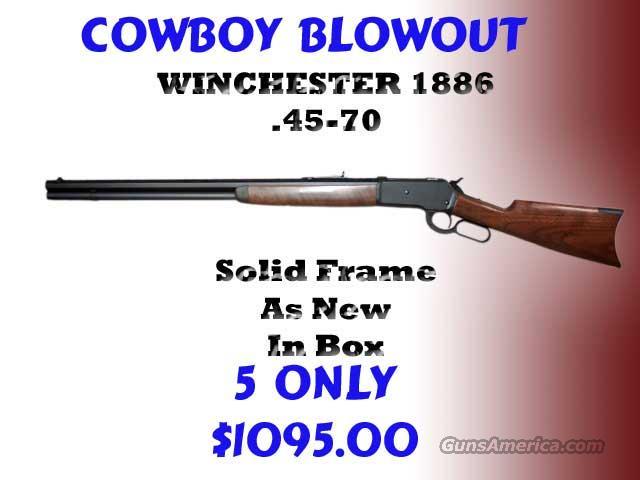 Winchester 1886 45-70 lever  Guns > Rifles > Winchester Rifles - Modern Lever