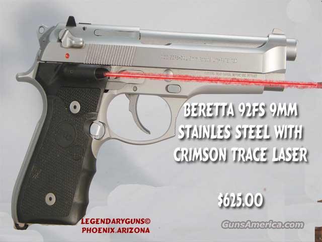 Beretta 92 Fs Used 9mm S/S  Guns > Pistols > Beretta Pistols > Model 92 Series