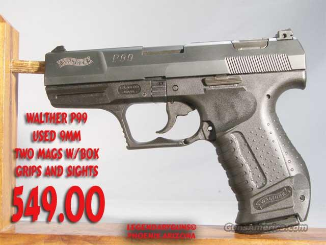 Walther P99 9mm  Guns > Pistols > Walther Pistols > Post WWII > Large Frame Autos