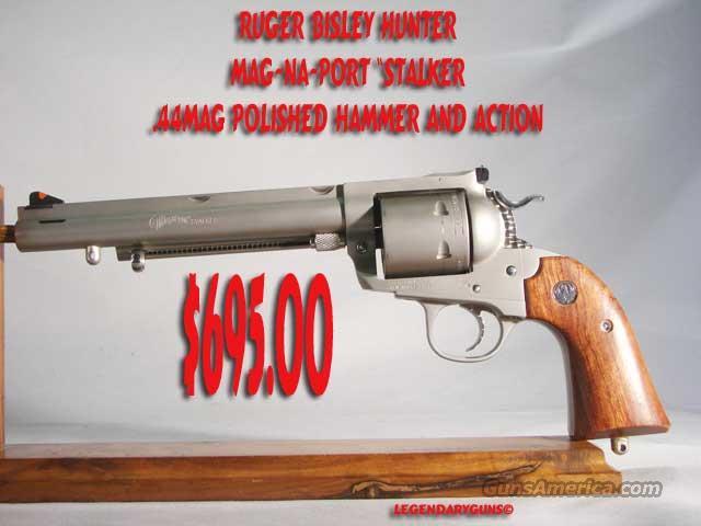 Custom Ruger Bisley .44mag  Guns > Pistols > Ruger Single Action Revolvers > Blackhawk Type