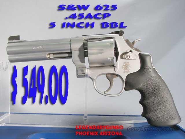 S&W M-625 .45acp USED WITH BOX Unfired,  We knew the previous owner,  Guns > Pistols > Smith & Wesson Revolvers > Full Frame Revolver