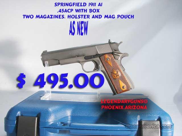 Springfield 1911 A1 .45 W/box  Guns > Pistols > Springfield Armory Pistols > 1911 Type