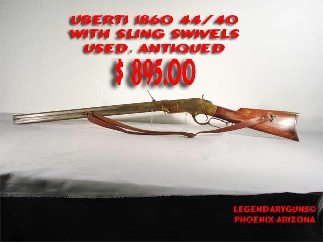 Uberti Henry 1860 44/40  Guns > Rifles > Uberti Rifles > Lever Action