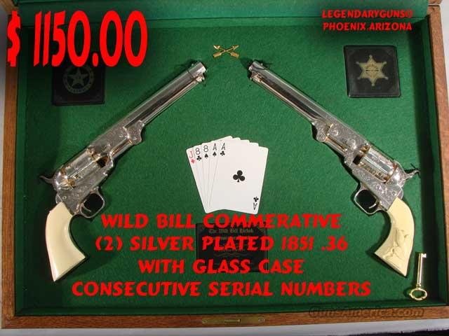 Wild Bill .36 Cal Set, Commerative  Guns > Pistols > Custom Pistols > Cowboy Action