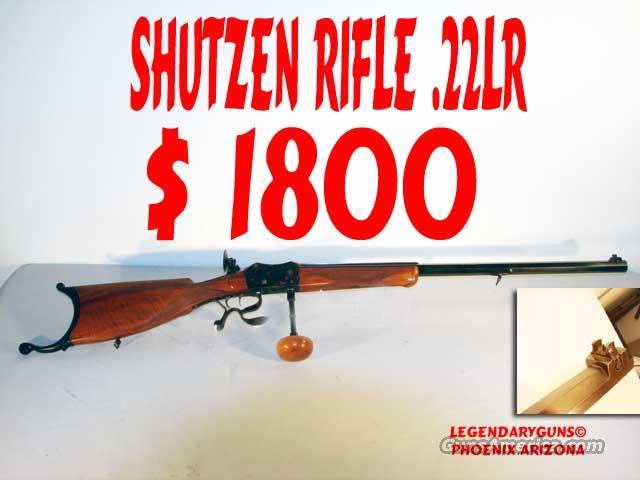 Shutzen .22lr  Guns > Rifles > Antique (Pre-1899) Rifles - Ctg. Misc.