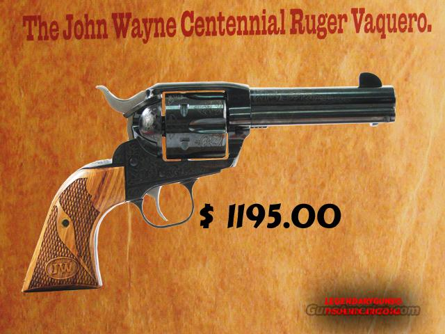 Ruger John Wayne Commerative  Guns > Pistols > Ruger Single Action Revolvers > Cowboy Action