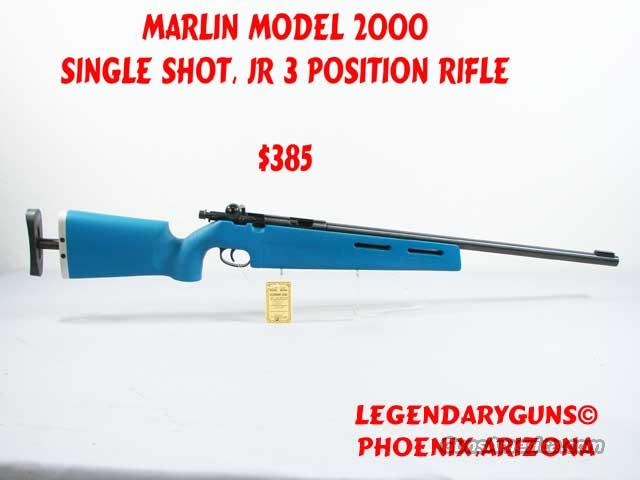 Marlin Model 2000  .22lr    Guns > Rifles > Marlin Rifles > Modern > Bolt/Pump